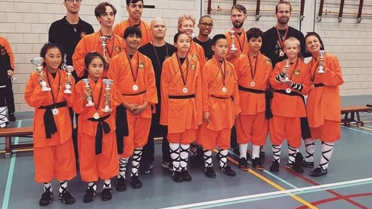 NK Shaolin Kung Fu wedstrijd - FHMA Almere
