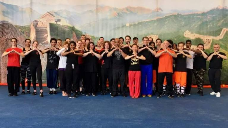 Kung Fu Almere - op bezoek bij Earl blijd 5582